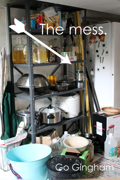 The mess Go Gingham