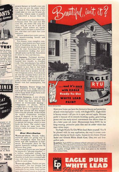 Lead paint ad from BHG 1947