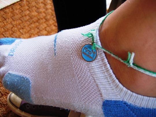 Granada, Spain ankle charm