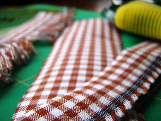 Gingham Drawer Liners