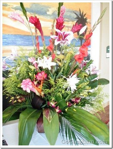 DIY Flower Arranging - Go Gingham Style