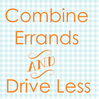 Combine errands and drive less Go Gingham