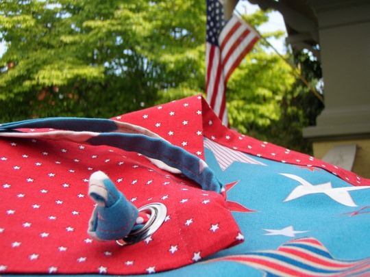 Flag Day Tablecloth