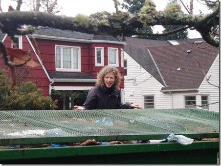 Dumpster diving problem