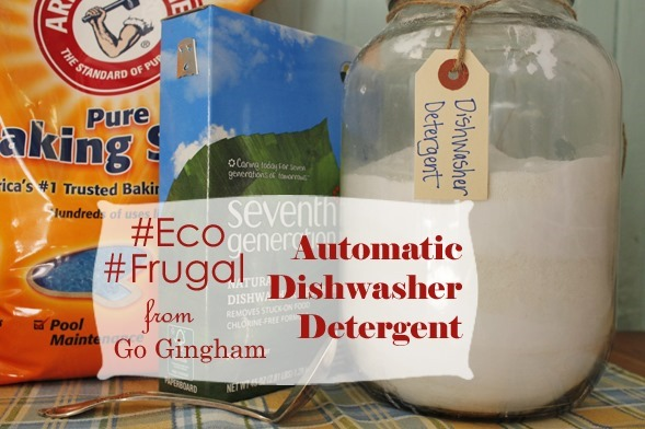 Dishwasher detergent hack from Go Gingham