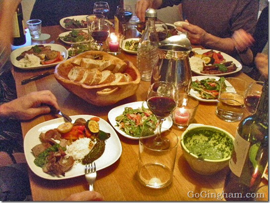 How to Organize a Dinner Group
