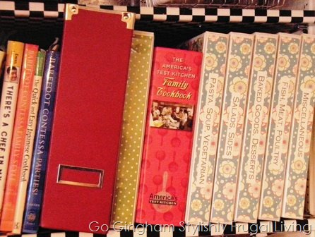 How to Organize Recipes and Cookbooks – Go Gingham