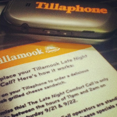 Tillaphone delivery