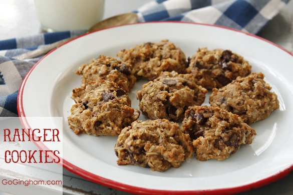 Healthy Ranger Cookies from www.GoGingham.com