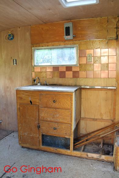 Kitchen area Scamper Go Gingham