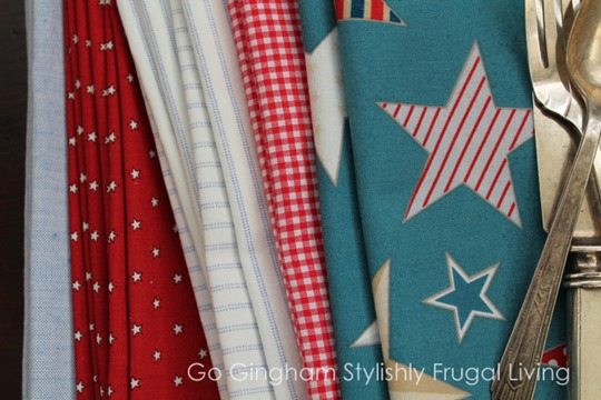 Go Gingham How to Make Cloth Napkins