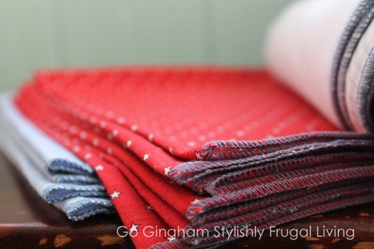 Go Gingham Kitchen Cloth Napkins