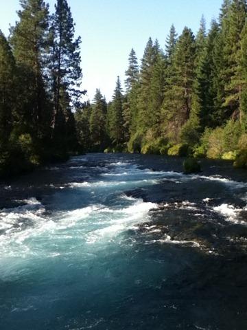 Metolius river, near Sisters, Oregon