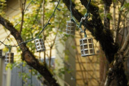 Lights for backyard decorating