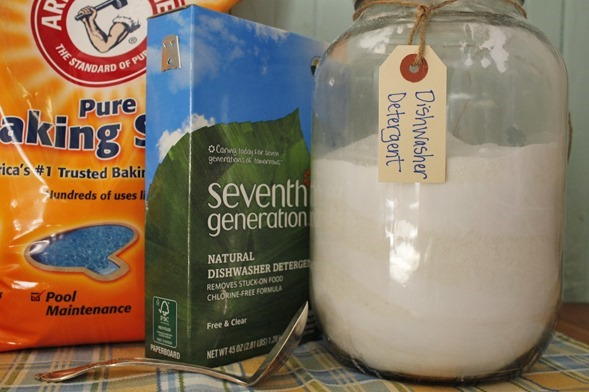 Dishwasher Detergent Go Gingham