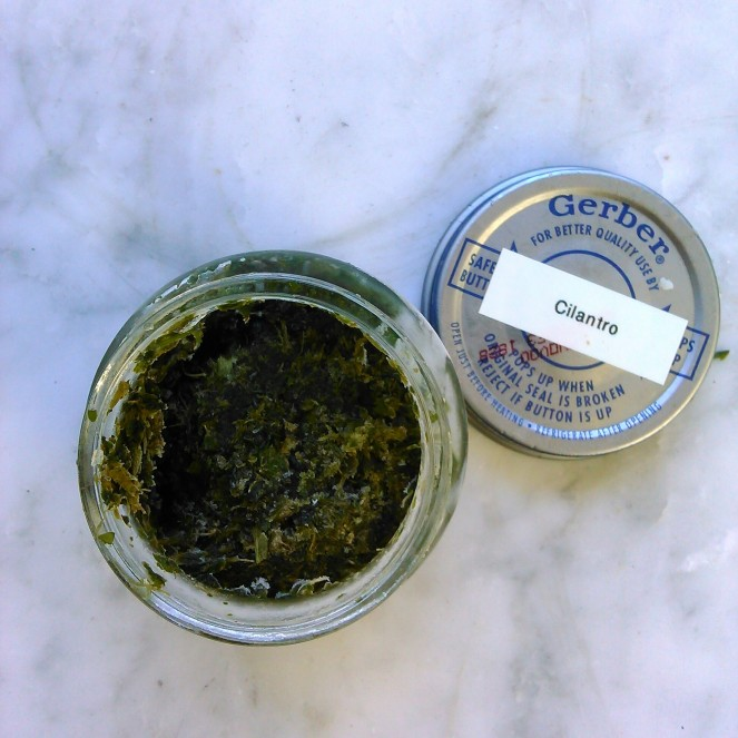 Frozen cilantro Go Gingham