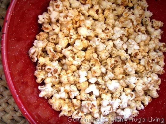 Microwave free popcorn
