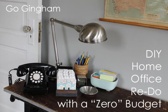 DIY Project Zero Budget GoGingham.com