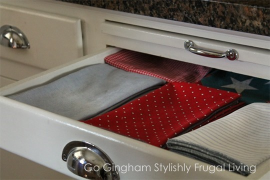 Go Gingham Homemade Cloth Napkins