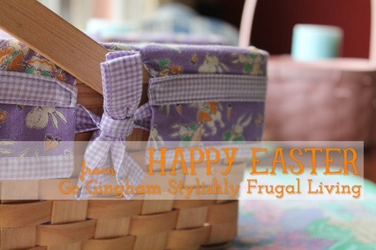 Happy Easter from Go Gingham