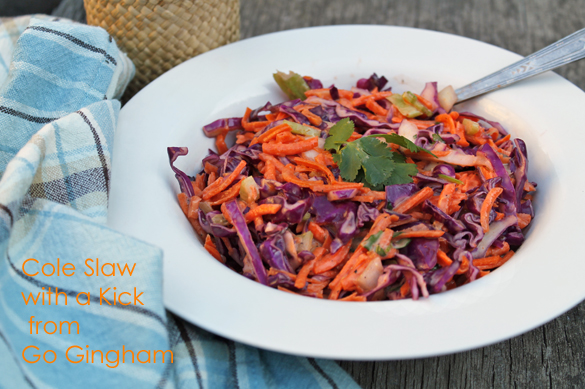 Recipe Cole Slaw Go Gingham
