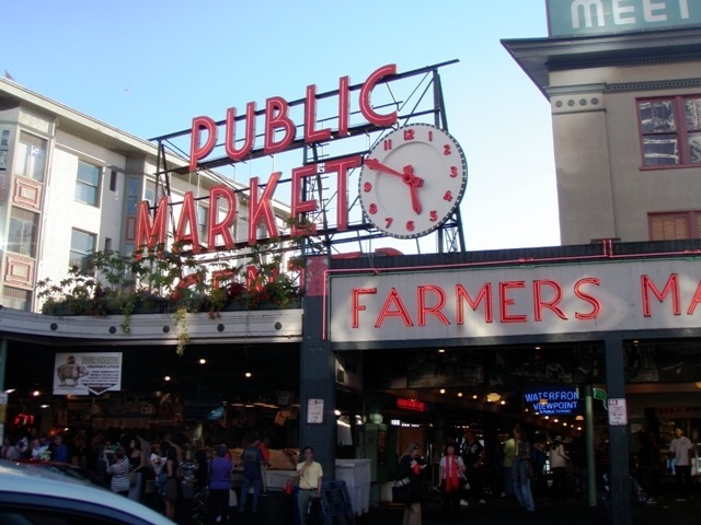 Seattle on the cheap Pike Place Market