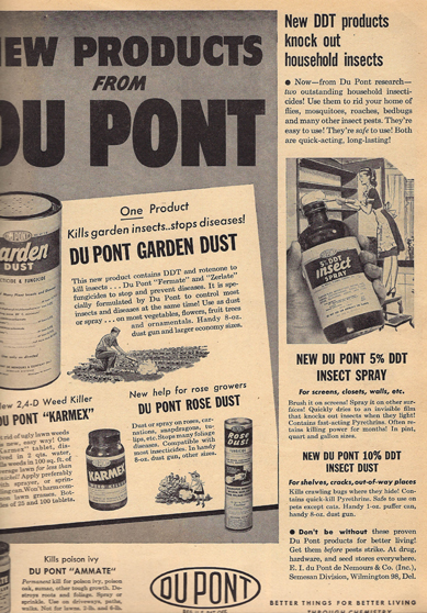 DDT ad from BHG 1947