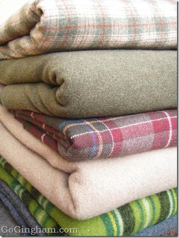 Go Gingham: Wool blankets
