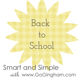 Smart and Simple back to school