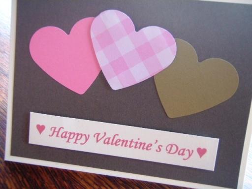 Homemade Valentine's Day card