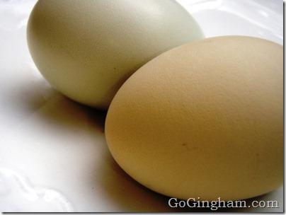 Go Gingham: How to hard boil eggs