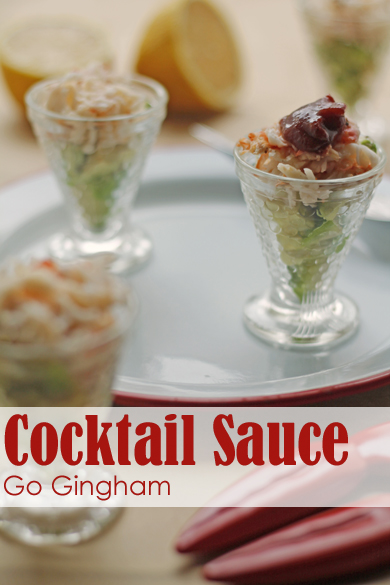 Cocktail Sauce Recipe Go Gingham