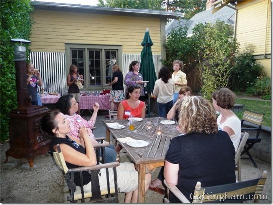 BlogHer in the Backyard