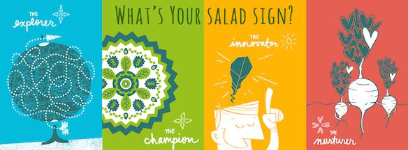 Earthbound Farm's Salad Sign
