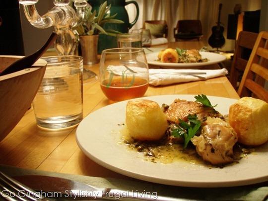 Gourmet supper club