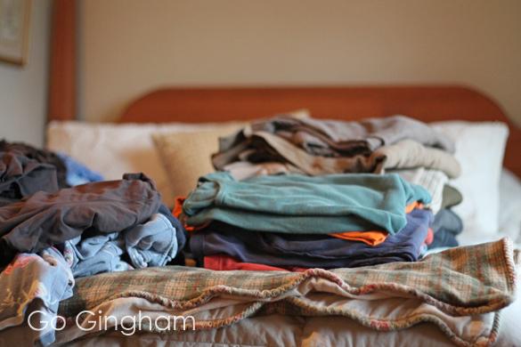 Closet organization Go Gingham