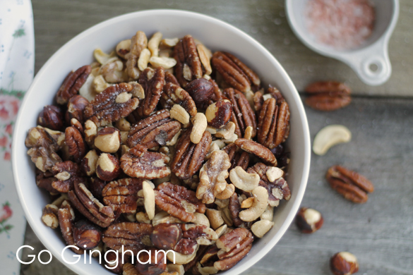 Mixed nuts recipe by Go Gingham