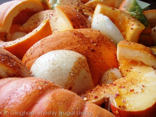 Roasted Pumpkin and Squash