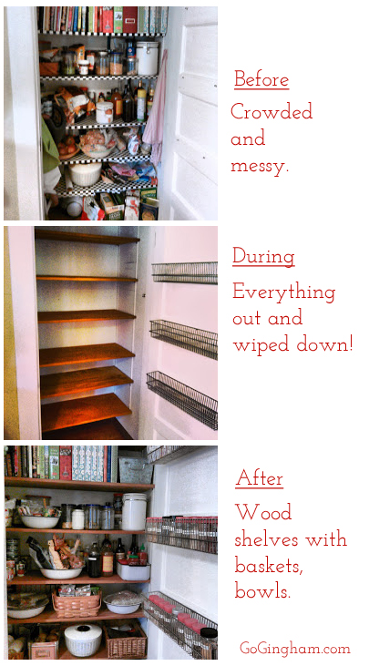 Home Organization Project from Go Gingham