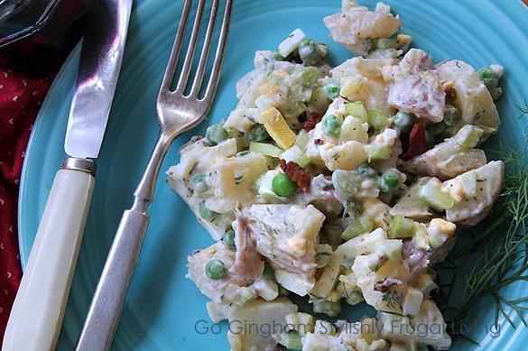 Go Gingham Potato Salad