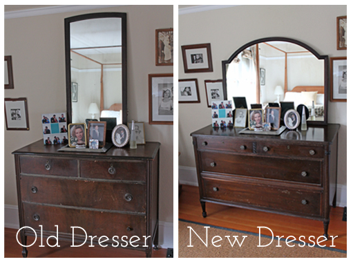 Old and new dresser Go Gingham