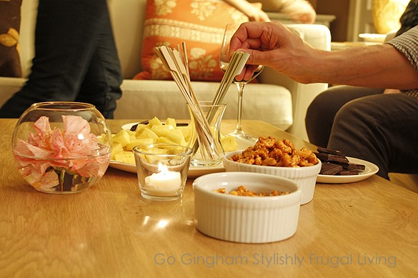Go Gingham Frugal Entertaining Dinner Group