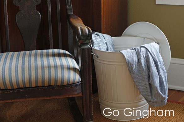 Laundry hamper Go Gingham