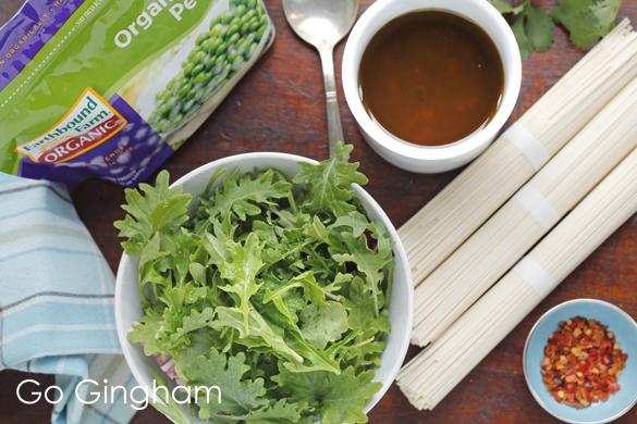 Healthy dinner ingredients Go Gingham