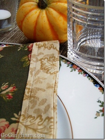 Go Gingham: Happy Thanksgiving