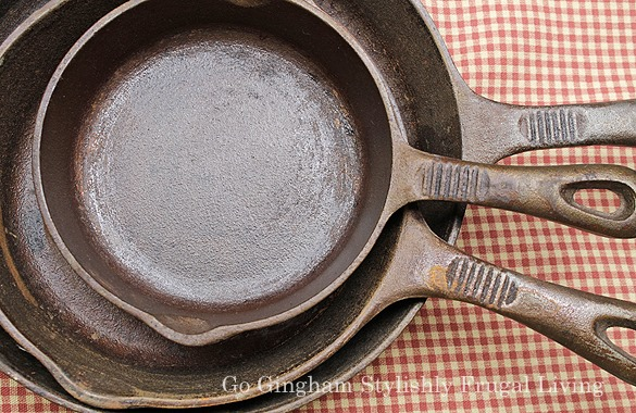 Cooking with cast iron www.gogingham.com