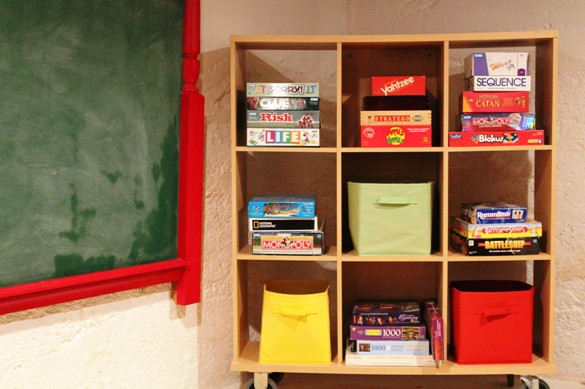 Go Gingham Home Organization: games and toys