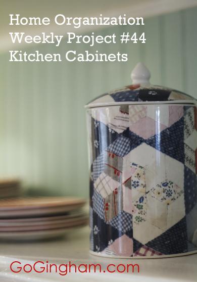 Kitchen cabinets Go Gingham