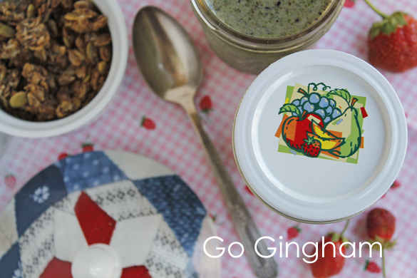Breakfast smoothies from Go Gingham