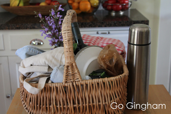 Picnic dinners from Go Gingham